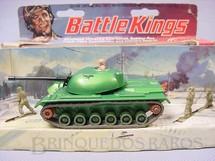 1. Brinquedos antigos - Matchbox - M48 A2 Tank Battle Kings completo com três soldados