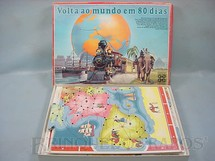 1. Brinquedos antigos - Grow - Jogo Volta ao Mundo em 80 Dias Completo Década de 1980