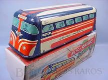 Brinquedos Antigos - Metalma - Auto-�nibus Metalma com 32,00 cm de comprimento D�cada de 1950