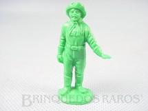 1. Brinquedos antigos - Casablanca e Gulliver - Cabo Rusty Forte Apache Gulliver de plástico verde Década de 1980