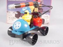 1. Brinquedos antigos - Tente - Conjunto de montar Tente Carro Laser Década de 1980.