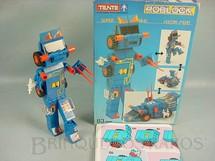 1. Brinquedos antigos - Tente - Conjunto de montar Tente Robot Vulcan 27020 Transformer série Roblock Década de 1980