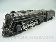 1. Brinquedos antigos - Gilbert - Locomotiva a vapor American Flyer número 362 New York Central Década de 1950