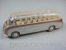 1. Brinquedos antigos - Wiking - Onibus Setra S8 com teto transparente