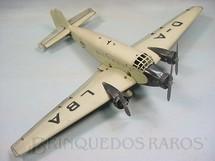 1. Brinquedos antigos - Marklin - Junkers JU52 com 56,00 cm de envergadura Flugzeugbaukasten Três motores Década de 1930