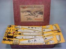 1. Brinquedos antigos - Marklin - Conjunto para montar um avião Junkers JU52 com 56,00 cm de envergadura Flugzeugbaukasten Um motor Datado 1937