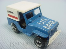 1. Brinquedos antigos - Matchbox - Jeep Willys US Mail Truck Superfast