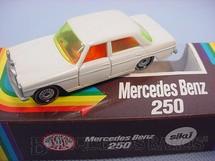 1. Brinquedos antigos - Siku-Rei - Mercedes Benz 250 branco Brasilianische Siku Alfema