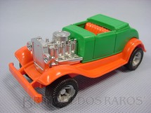 1. Brinquedos antigos - Playart - Calhambeque Hot Rod verde com 10,00 cm de comprimento Década de 1970