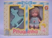 1. Brinquedos antigos - Estrela - Pituquinha com Cavalinho fabricada sob licença de Famosa Espanha Década de 1980