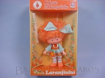 1. Brinquedos antigos - Estrela - Laranjinha Coleção Moranguinho Completa Caixa Lacrada Década de 1980