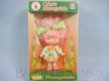 1. Brinquedos antigos - Estrela - Pesseguinho Coleção Moranguinho Completa Caixa Lacrada Década de 1980