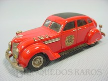 1. Brinquedos antigos - Rextoys - Chrysler Airflow 1935, Fire Chief. Década de 1980
