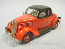 1. Brinquedos antigos - Rextoys - Ford V8 1935 Coupé, Fire Chief. Década de 1980