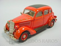 1. Brinquedos antigos - Rextoys - Ford V8 1935 Sedan, Fire Chief. Década de 1980