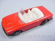1. Brinquedos antigos - Matchbox - Inbrima - Mercedes Benz 350 SL Tourer conversível Superfast vermelho Brazilian Matchbox Inbrima 1980