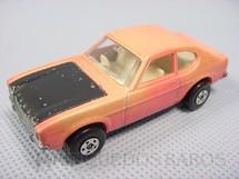 1. Brinquedos antigos - Matchbox - Ford Capri Superfast cor de rosa