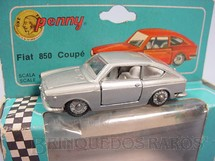 1. Brinquedos antigos - Politoys e Polistil - Fiat 850 Coupé Penny Politoys Década de 1960