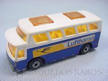 1. Brinquedos antigos - Matchbox - Airport Coach Superfast Lufthansa