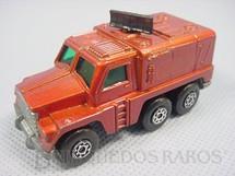 1. Brinquedos antigos - Matchbox - Badger Rola-Matics vermelho metálico black antennae