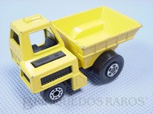 1. Brinquedos antigos - Matchbox - Site Dumper Superfast caçamba amarela