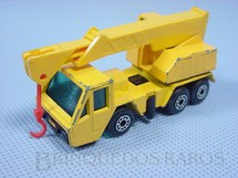 1. Brinquedos antigos - Matchbox - Inbrima - Guindaste Crane Truck Superfast Brazilian Matchbox Inbrima 1970