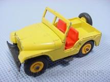 1. Brinquedos antigos - Matchbox - Standard Jeep Black plastic tires