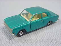 1. Brinquedos antigos - Matchbox - Ford Cortina Superfast Transitional Weels azul metálico