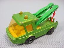 1. Brinquedos antigos - Matchbox - Toe Joe Superfast verde metálico