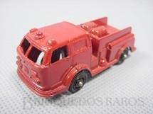 1. Brinquedos antigos - Tootsietoy - American LaFrance Fire Bumper com 6,00 cm de comprimento Década de 1960
