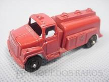 1. Brinquedos antigos - Tootsietoy - Caminhão Tanque com 6,00 cm de comprimento Década de 1960