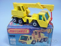 1. Brinquedos antigos - Matchbox - Guindaste Crane Truck Superfast