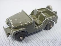 Brinquedos Antigos - Midgetoy - Jeep Chrysler CJ5 militar D�cada de 1950