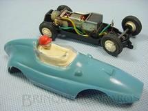 1. Brinquedos antigos - Estrela - Fórmula Junior Azul licença Gilbert Co. Ano 1963