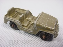 1. Brinquedos antigos - Tootsietoy - Jeep Chrysler CJ5 militar Década de 1950