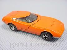 1. Brinquedos antigos - Matchbox - Inbrima - Dodge Charger MK III Superfast laranja Brazilian Matchbox Inbrima 1970