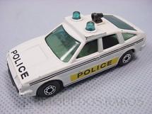 1. Brinquedos antigos - Matchbox - Rover 3500 Police Superfast