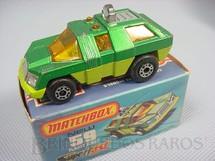 1. Brinquedos antigos - Matchbox - Planet Scout Superfast verde metálico