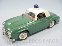 1. Brinquedos antigos - Schuco - Mercedes Benz 190 SL Elektro Razzia Car à pilha e à corda Década de 1970