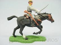 1. Brinquedos antigos - Britains - Soldado Confederado a cavalo com sabre Década de 1960