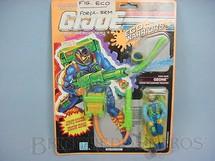 1. Brinquedos antigos - Hasbro - Eco Warriors, Ozone, completo, lacrado. Ano 1990