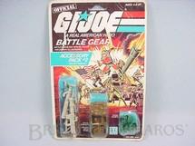 1. Brinquedos antigos - Hasbro - Accessory Pack number 2 Battle Gear completo lacrado Ano 1984