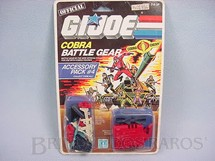 1. Brinquedos antigos - Hasbro - Accessory Pack number 4 completo Battle Gear lacrado Ano 1985