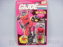 1. Brinquedos antigos - Hasbro - Ninja Force Slice completo lacrado Ano 1991