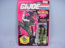 1. Brinquedos antigos - Hasbro - Ninja Force Nunchuk completo lacrado Ano 1991