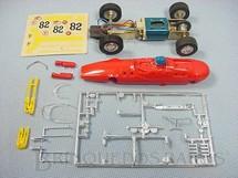 1. Brinquedos antigos - Estrela - Lotus 38 Fórmula 1 Vermelha 100% original Carroceria ainda por montar Chassi de latão Ano 1968