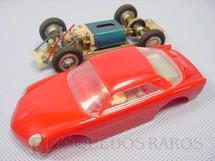 1. Brinquedos antigos - Estrela - Willys Interlagos Berlineta vermelha Chassi de latão Ano 1968