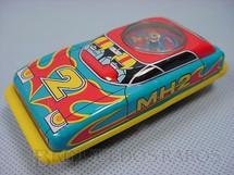 1. Brinquedos antigos - S.H. - Carro MH2 com Roleta 10,00 cm de comprimento Década de 1970