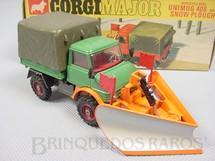 1. Brinquedos antigos - Corgi Toys - Mercedes Benz Unimog with Snow Ploug Corgi Majors