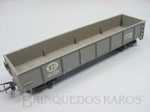 1. Brinquedos antigos - Atma - Vagão Gôndola com dois trucks Estrada de Ferro Araraquarense Década de 1960